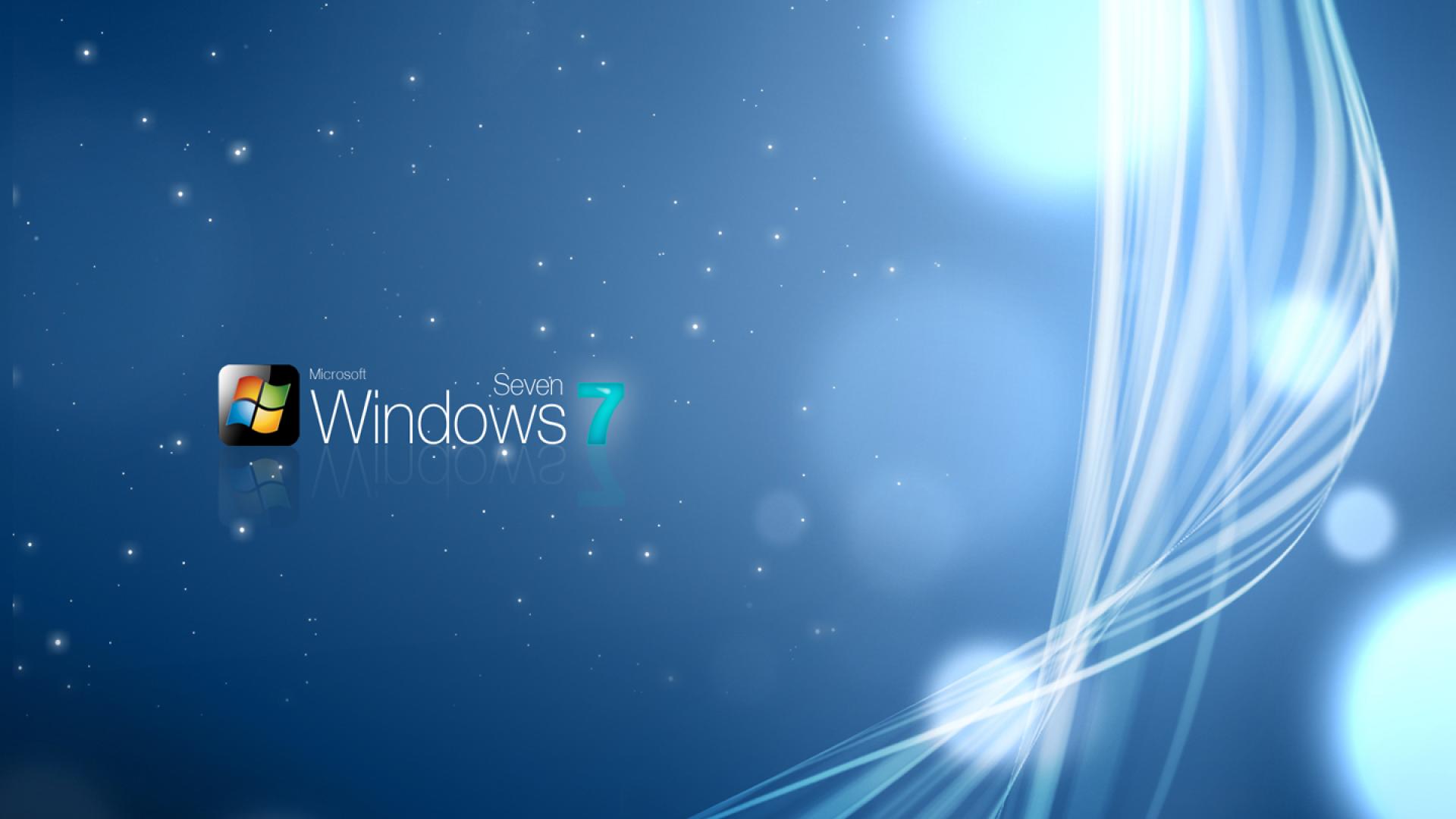 Windows 7 Sparkly Wallpaper