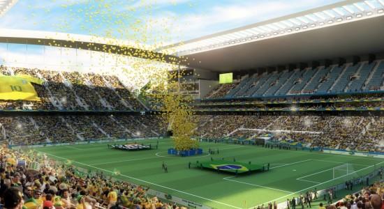 Arena Corinthians World Cup Wallpaper