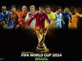 Brazil 2014 World Cup Players