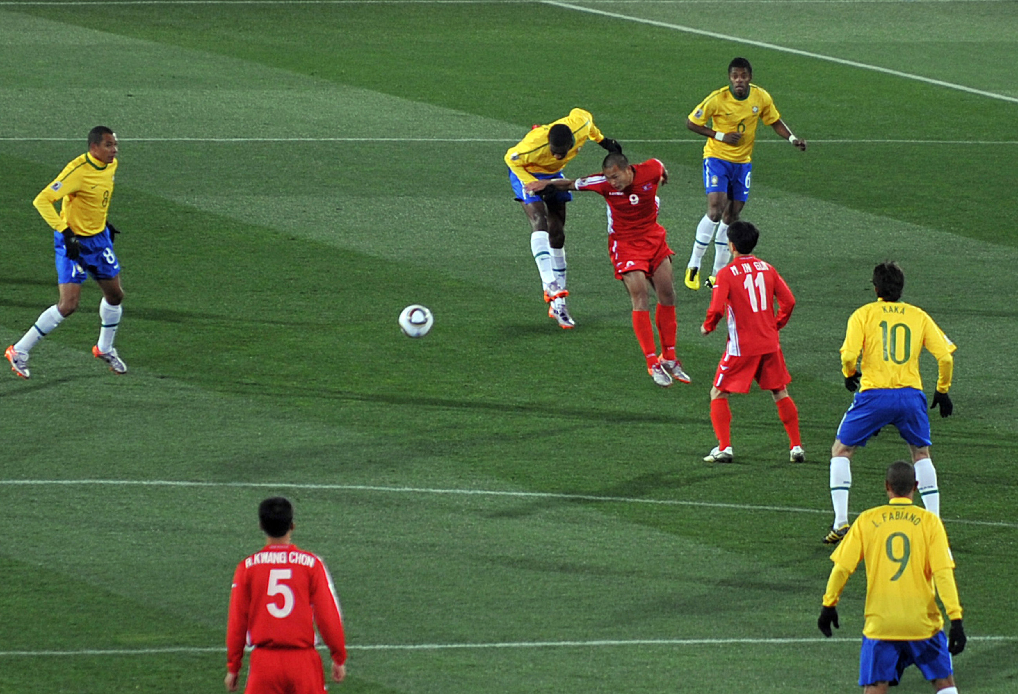 Brazil Vs North Korea World Cup