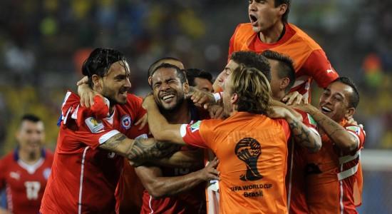 Group B - Chile vs Australia