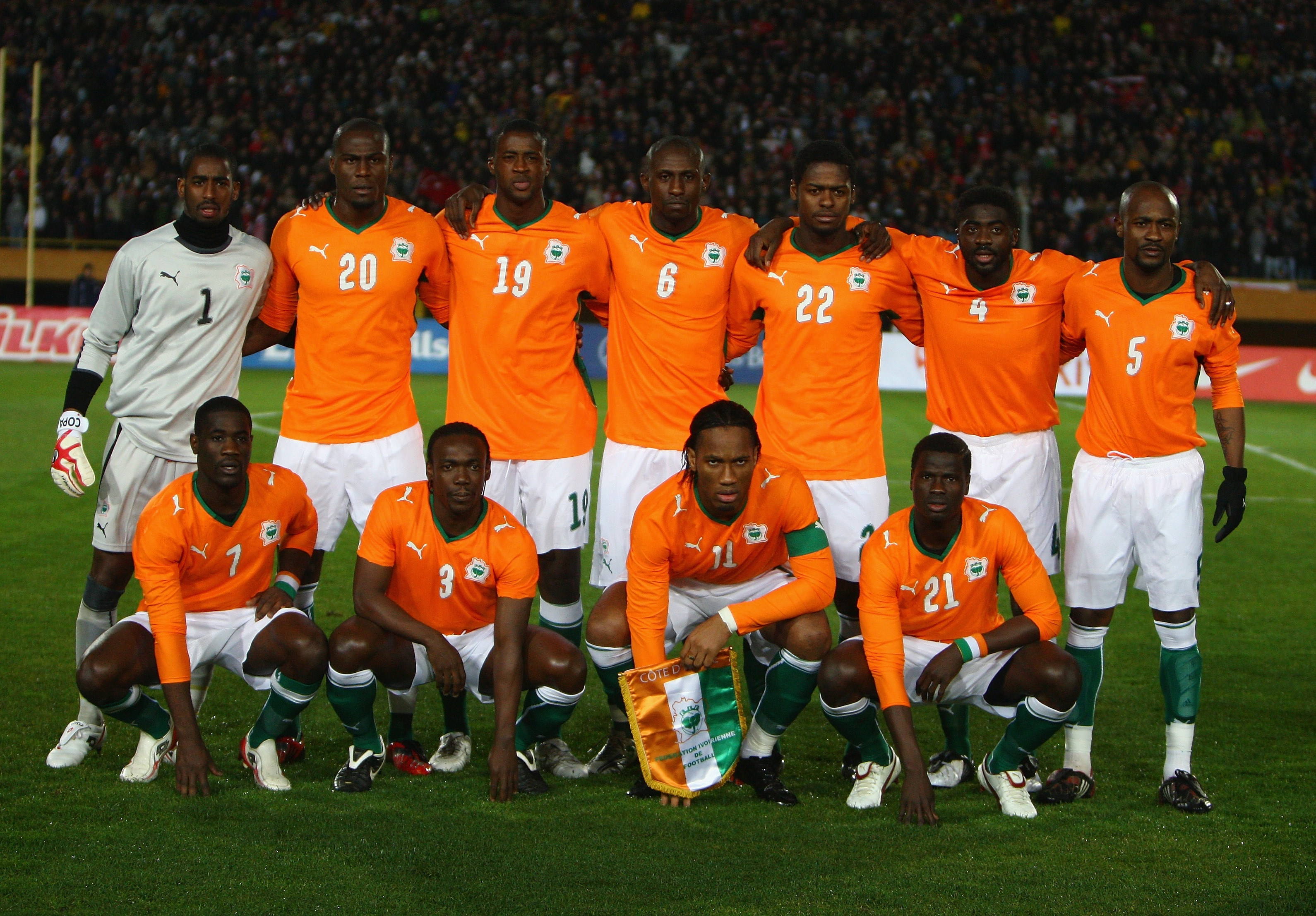 Cote d'Ivoire 2014 World Cup