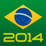 Flag of Brazil 2014 World Cup
