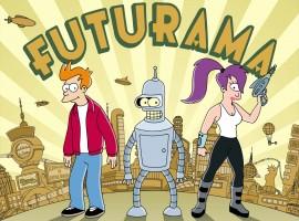 Fry, Bender & Leela