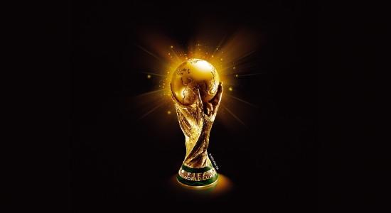 Golden World Cup Trophy