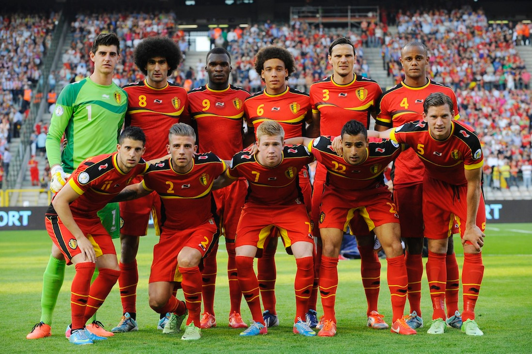 Group H Belgium – 2014 World Cup