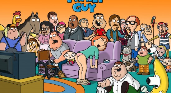Messed Up Family Guy Photo