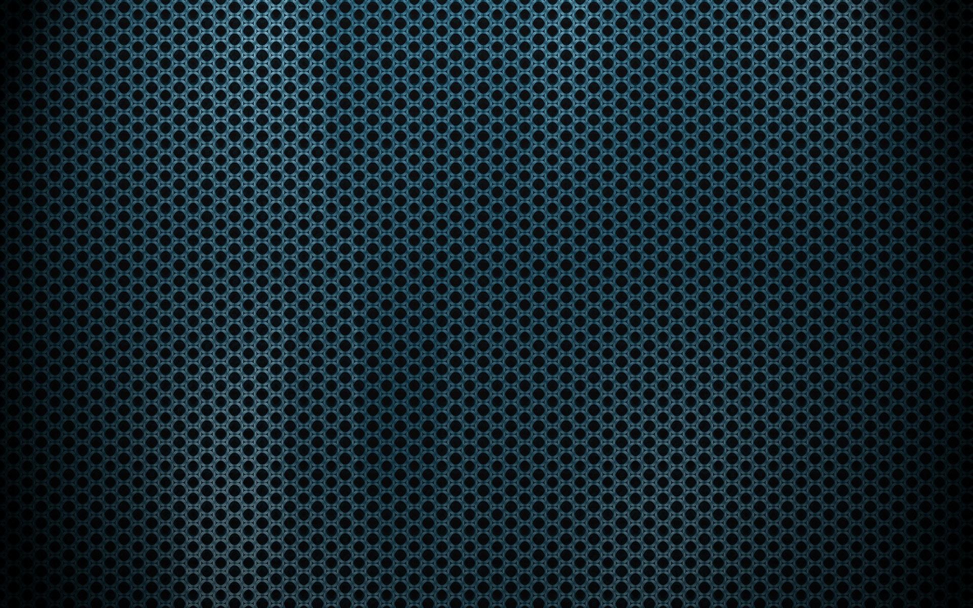 Perforated Blue Metal
