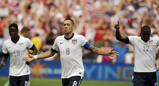 Clint Dempsey, Eddie Johnson, Jozy Altidore