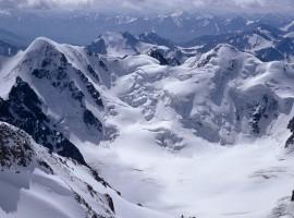 Snowy mountains Windows 7 background