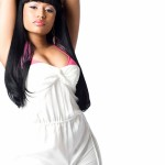 White Nicki Minaj wallpaper