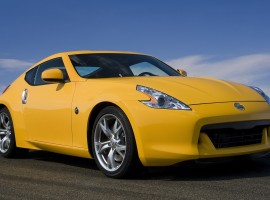 Yellow sports car wallpaper