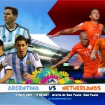 Argentina Vs Netherlands World Cup 2014 Semi-Finals