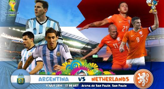 Argentina Vs Netherlands World Cup 2014 Semi-Finals