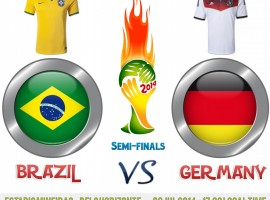 Brazil Vs Germany World Cup 2014 Semi-Finals