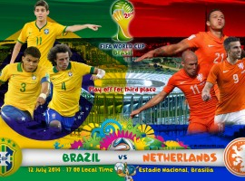Brazil Vs Netherlands Third Place Decider