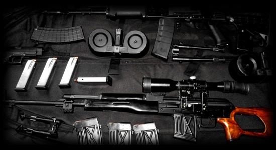 A De-Assembled Gun