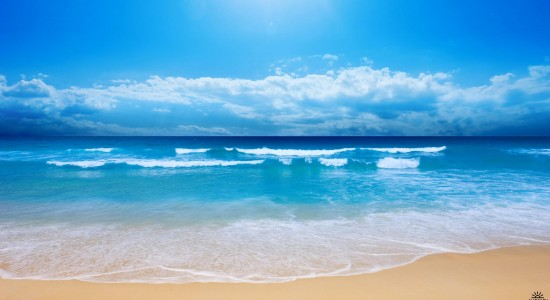 Beautiful Beach Side View