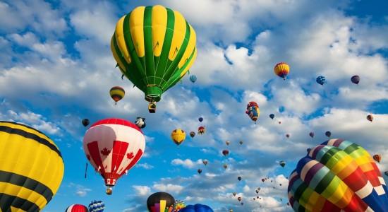 Country Hot Air Balloons