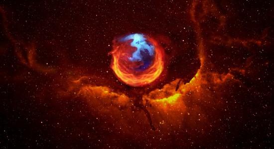 Firefox in Space