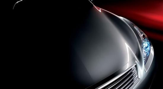 Sleek Dark Car Background