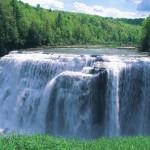 Wide Waterfall Wallpaper