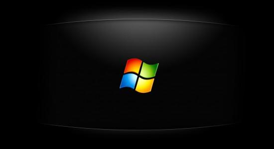 Windows Tiles on Black