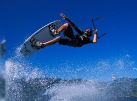 Windsurfer Catching Air