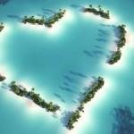 Heart Shaped Islands