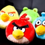 Plush Angry Birds Wallpaper