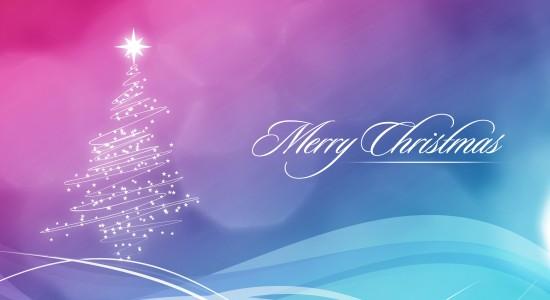 Italic Merry Christmas