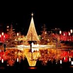 Magical City Lights Wallpaper