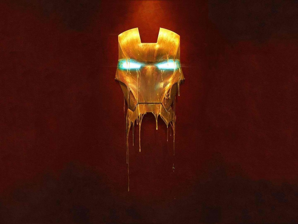 Melting Iron Man Mask - HD Wallpapers