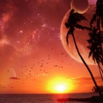 Purple Beach Paradise