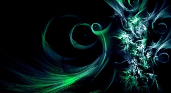 Green & Blue Tint Wallpaper