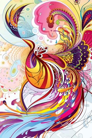 High Resolution Abstract Phoenix Wallpaper Hd Wallpapers