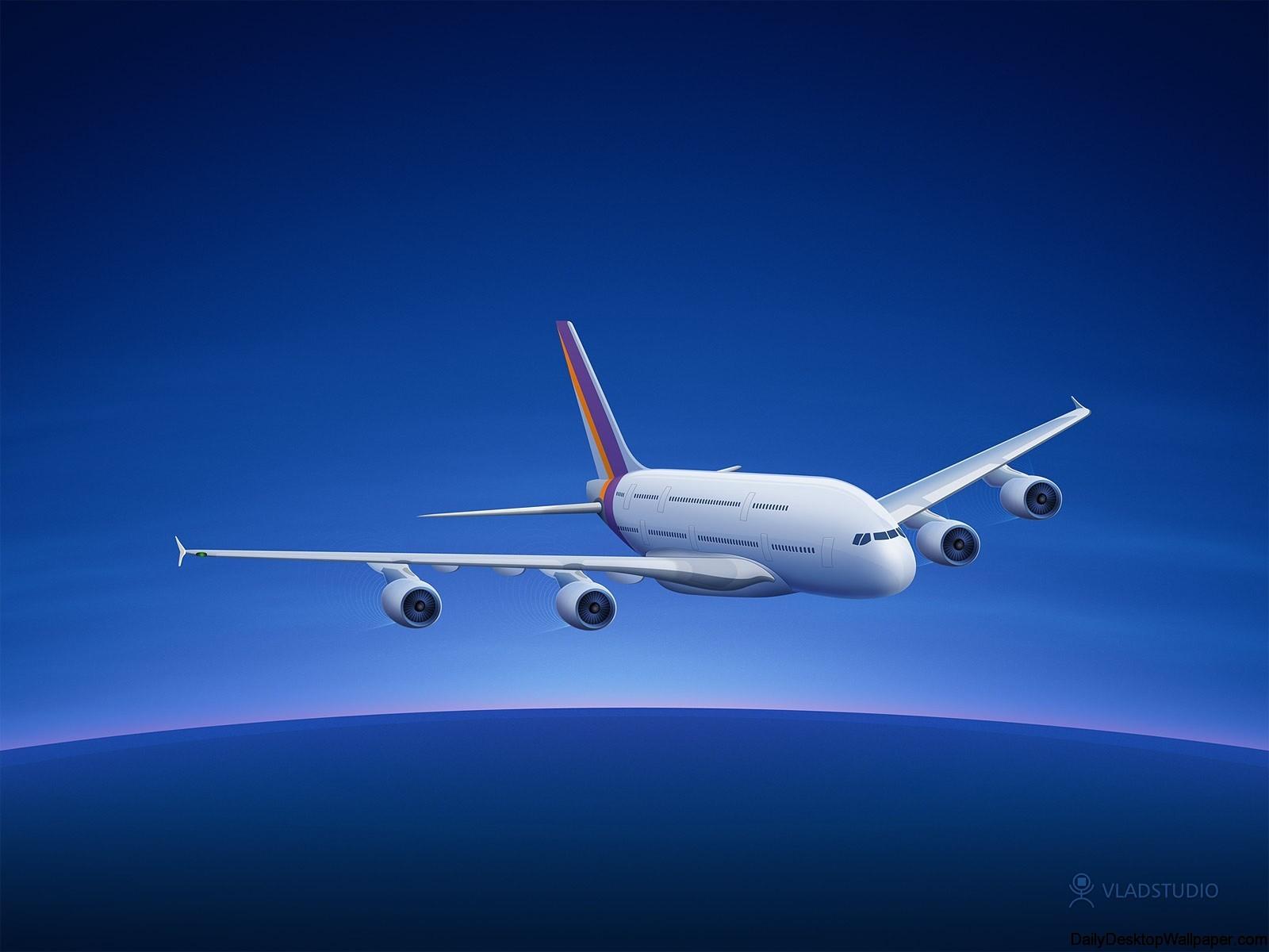 Airbus A380 wallpaper
