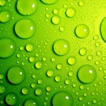 HD water droplet wallpaper
