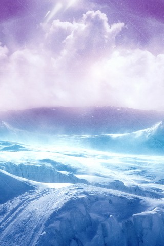 High Resolution Ice Terrain Wallpaper Hd Wallpapers