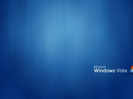 Blue windows vista high res wallpaper
