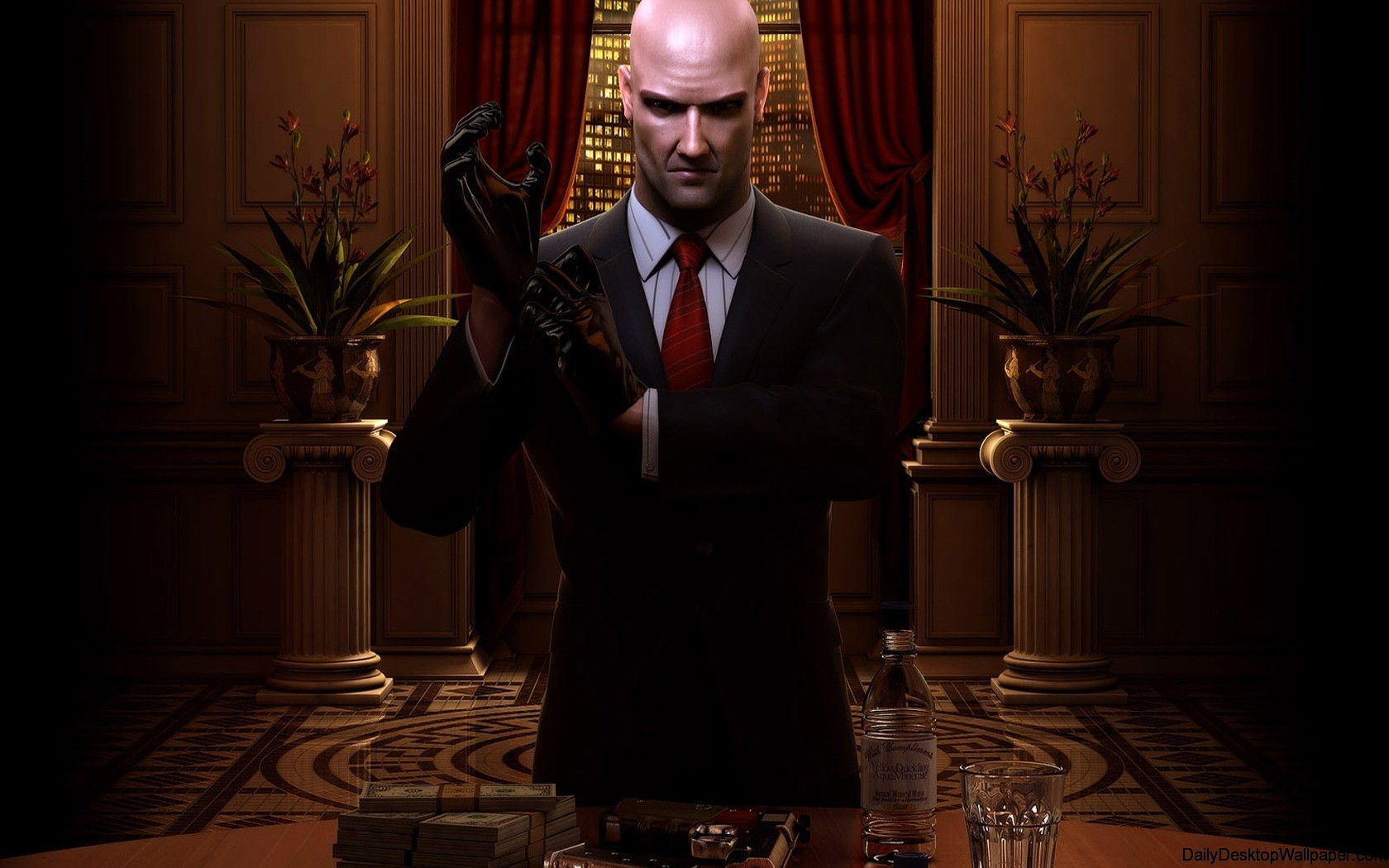 Hitman blood money  x  widescreen high resolution wallpaper