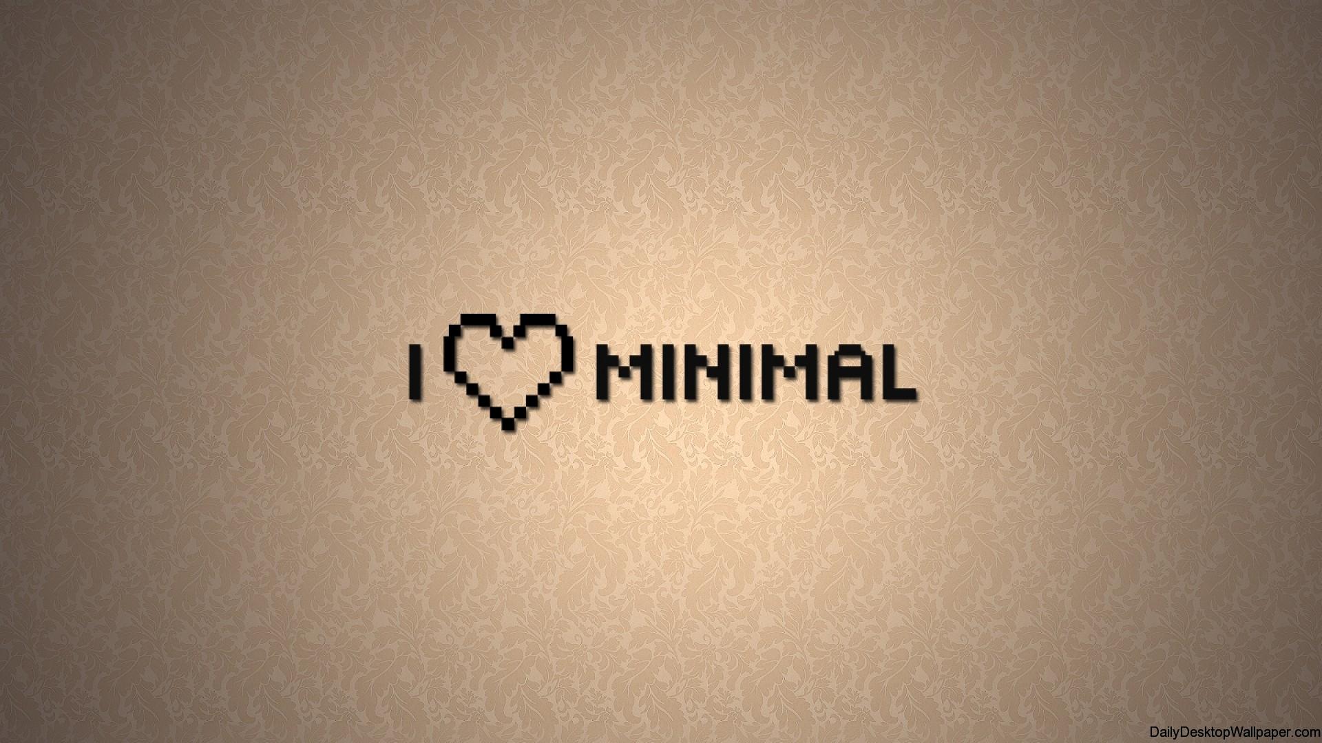 I Love Minimal