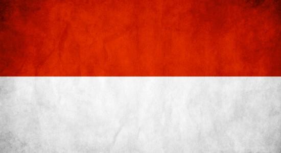 Indonesia flag wallpaper