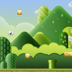 Super Mario Brothers Wallpaper