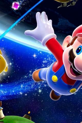 Super Mario Galaxy Wallpaper IPhone