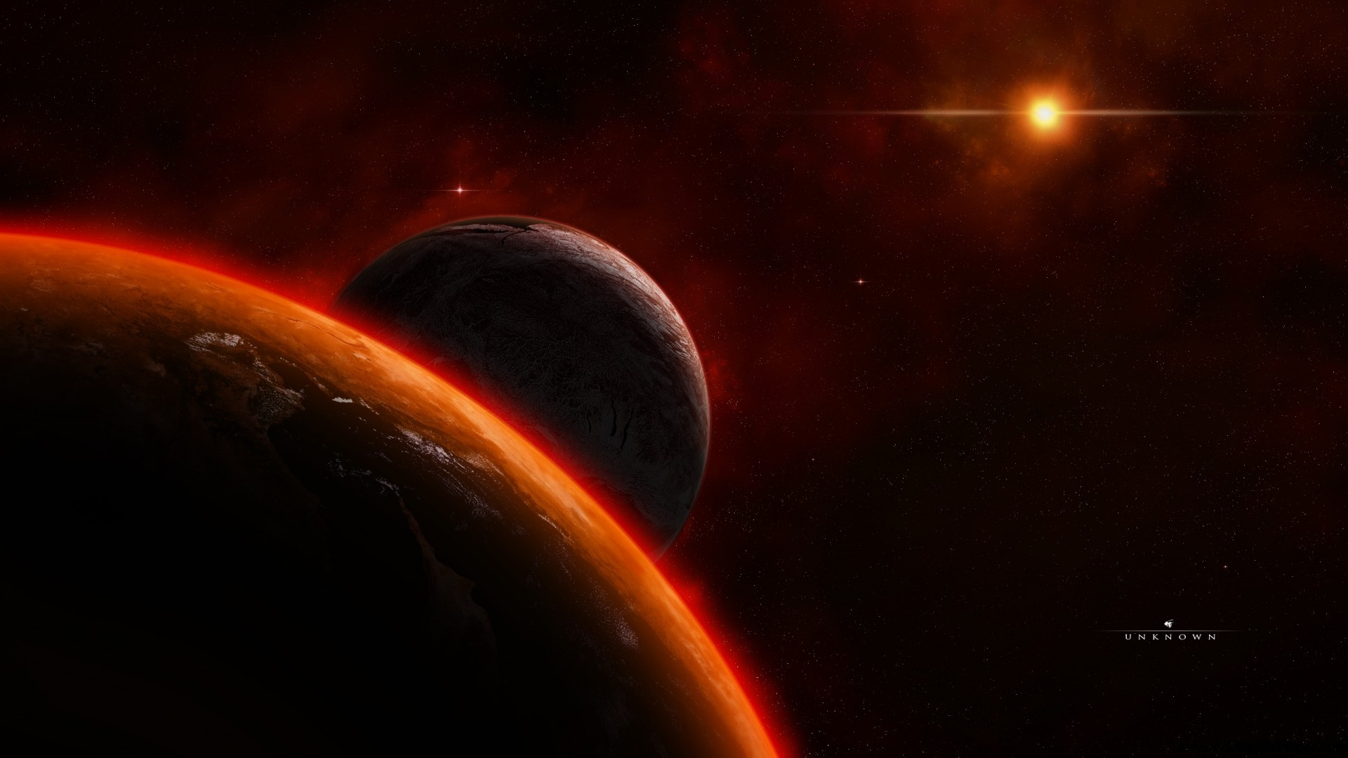 Unknown planet wallpaper