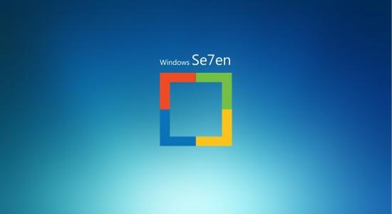 Windows Se7en Wallpaper