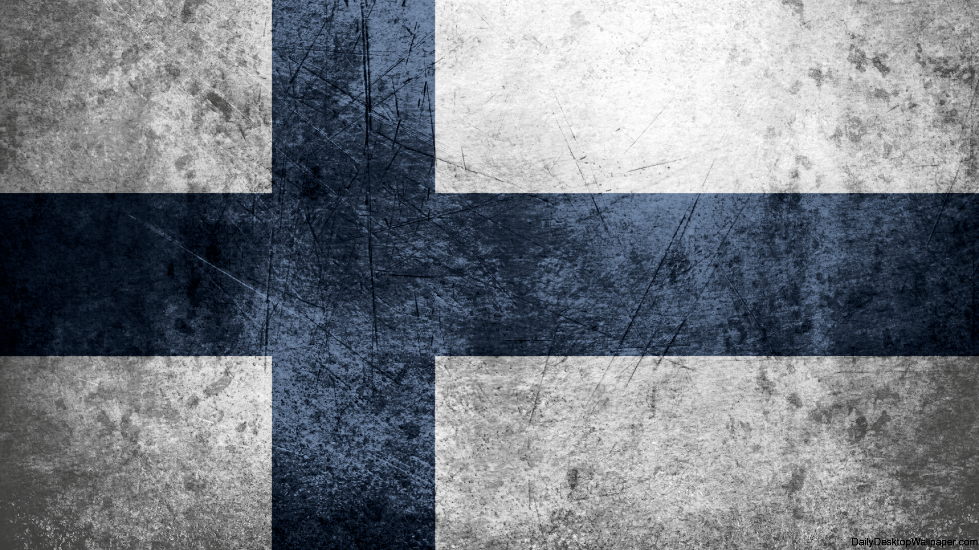 Finland Flag Wallpaper