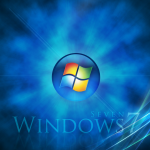 Windows 7 Space Wallpaper