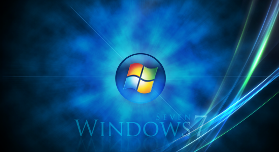 Windows 7 Space Wallpaper